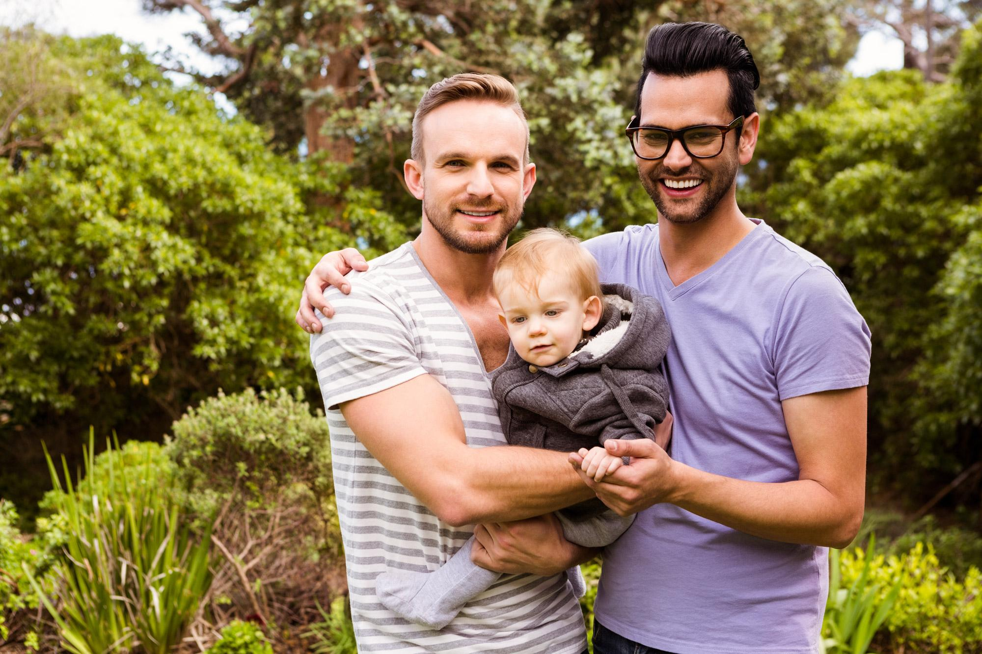 Matt and James wanted to adopt a very young child so Early Permanence Placement (EPP) seemed like the natural choice